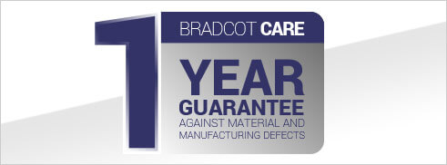 Bradcot Care 1 year guarantee