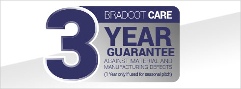 Bradcot Care 3 year guarantee