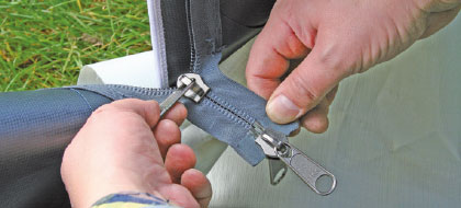 durable 10mm zippers